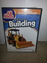 All About Building/All About Lumberjacks dvd in Camp Lejeune, North Carolina