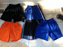 5 Pairs of Sport Shorts (Good for Girl or Boy) Size 4-5 in Naperville, Illinois