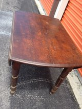 Antique Oak Drop Leaf Table in Cherry Point, North Carolina