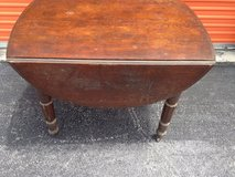 Oak Drop Leaf Table in Cherry Point, North Carolina