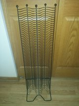Black metal wire 96 cd tower holder in Chicago, Illinois