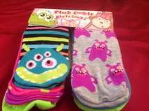Pink cookie girls socks in New Lenox, Illinois