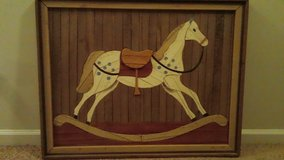 Rocking Horse 3D Picture in Camp Lejeune, North Carolina