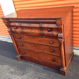 Antique 1820's Crotch Mahogany Chest in Camp Lejeune, North Carolina