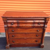 1820's Crotch Mahogany Chest in Cherry Point, North Carolina