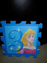 NEW Disney's Princess Large Hopscotch Play Mat #3 (Sleeping Beauty) in Camp Lejeune, North Carolina