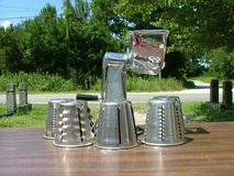 Genuine TownCraft Grater w/5 interchangable blades in Camp Lejeune, North Carolina