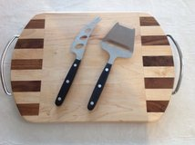 Cutting board with utensils in Morris, Illinois