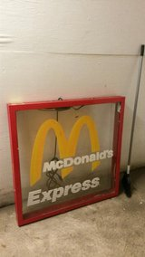 Vintage  Lighted McDonald's Sign - Pewaukee, WI in Glendale Heights, Illinois