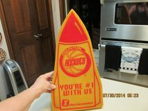Rockets vs. Spurs!  Vintage Spongy Hand Rocket - Collectible! in Kingwood, Texas