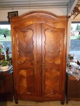 200 year old cherry armoire from Brittany in Wiesbaden, GE