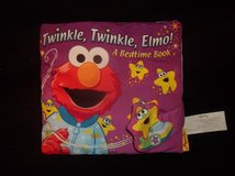 """SoftPlay Twinkle Twinkle Elmo A Bedtime Book- (CLOTH BOOK)  8"""" x 8""""  Soft polyester fabric. in Glendale Heights, Illinois"""