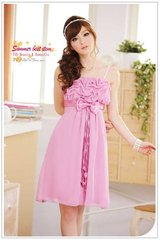 New - Graceful Chiffon Dress - Pink Purple in Baumholder, GE