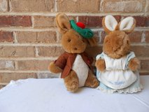 Beatrix Potter Plush Benjamin Bunny and Mrs. Rabbit in Chicago, Illinois