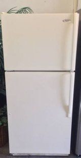 Like New Top and Bottom Whirlpool Refrigerator in Oceanside, California