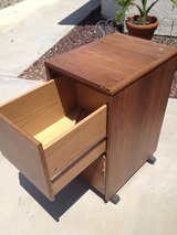 Rolling - File Cabinet 2 Drawer in 29 Palms, California