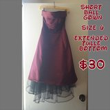 Short Ball Gown in Fort Drum, New York