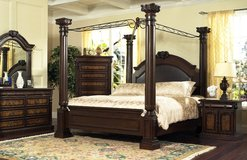 UF Special - Queen Size Empire Bedroom Set - Brand New! in Ramstein, Germany