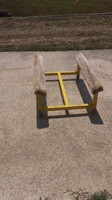 yellow ramp for boat or jetski in Fort Campbell, Kentucky
