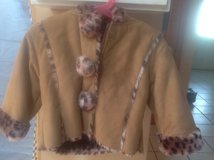 Suede leopard hooded jacket in Westmont, Illinois