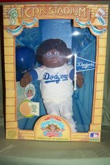 LA Dodgers Cabbage Patch Doll: NIB in Houston, Texas
