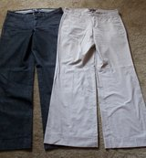 2 Pair Dress Slacks/ 1 Price, Size 6, Gap in Houston, Texas