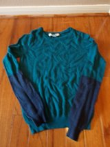 ***FOREVER 21 Green & Blue Sweater Shirt***SZ S in The Woodlands, Texas