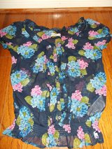 ***ABERCROMBIE Kids Pink & Blue Floral Shirt***SZ L LOT 2 in The Woodlands, Texas