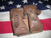 WW-2 or COLD WAR ERA LEATHER AMMO POUCH in Camp Lejeune, North Carolina