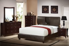 NEW QUEEN BED WITH MEMORY FOAM MATTRESS ONLY $399 OR KING $499 in San Bernardino, California