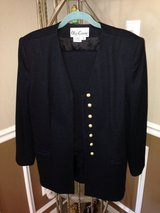(Sz 16) Black Oleg Cassini SUIT, Women's in Kingwood, Texas