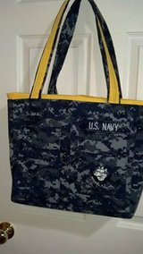 Handmade U. S. Navy NWU Large Totebag or Diaper Bag in Camp Lejeune, North Carolina