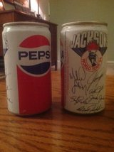 2 Vintage Pepsi cans featuring the Jackson's 1984 World Tour in Batavia, Illinois