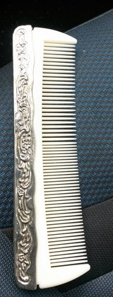 Silver Plate Comb in Beaufort, South Carolina