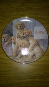 "Franklin Mint ""Adopt a Puppy"" Collector Plate - Golden Retrievers in Shorewood, Illinois"