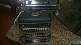 Remington Rand typewriter in Kingwood, Texas