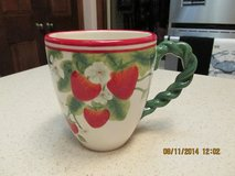 Collectible Strawberry Coffee Cup in Kingwood, Texas