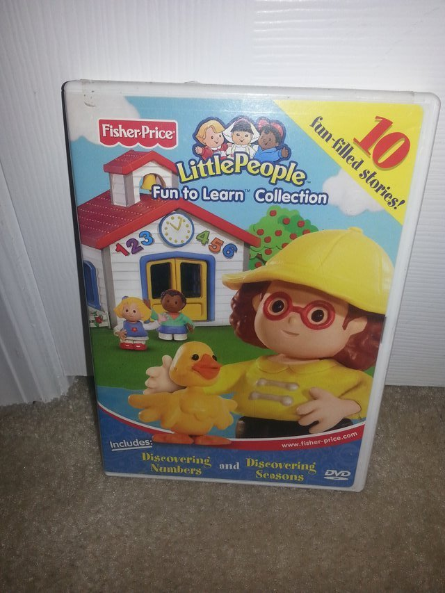Fisher Price Little People: Fun to Learn Collection DVD | CD/DVD/VHS for sale on Lejeune bookoo!
